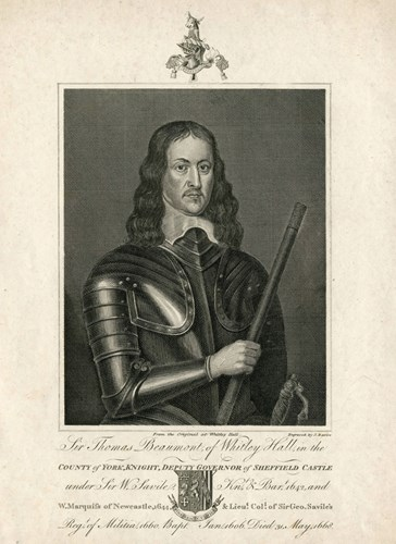 Sir Thomas Beaumont of Whitley Hall (1606-1668)