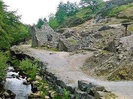 Lead was extracted and processed in Nidderdale in the Roman period. Lead working was a significant industry near Greenhow from the late 18th century to the late 19th century when the Prosperous lead mine and smelting mill was operational.