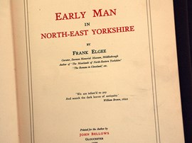 Early Man in North-East Yorkshire