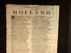 Yorkshire poet Andrew Marvell's political poem.